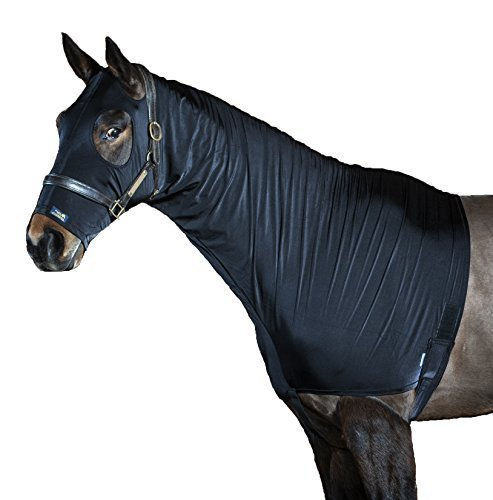 shiny-show-hood-stretch-lycra-horse-hood-2-colours-8-sizes-black-s-m-pull-on