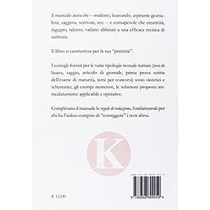 Manuale pratico di scrittura per laureandi, saggis