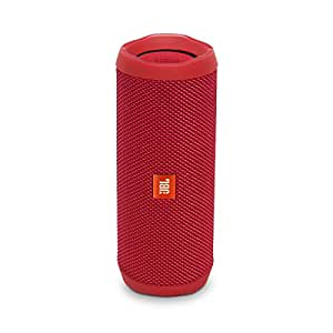 JBL JBLFLIP4RED Sistema Audio Portatile, Rosso