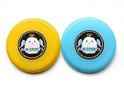 Set of 3 Angel Flying Discs Dog Discs Plastic Frisbees