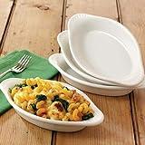 Jean Patrique set di 4Classic bella culinaria cottura e piatti da portata
