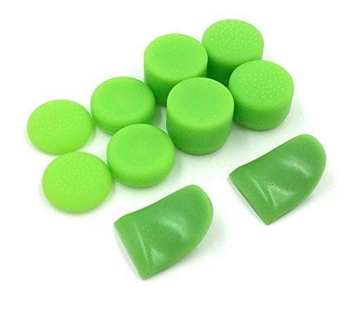 Tapas cubierta dedo analógico silicona antideslizante