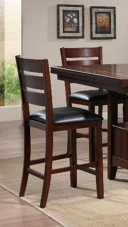 BARDSTOWN COUNTER. HT. CHAIR SET OF 2 by Crown Mark Furniture