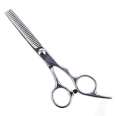 Y & B professionnelle en acier inoxydable toilettage pour animaux Ciseaux à effiler denté lame ciseaux à effiler 7