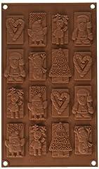 Idea Regalo - silikomart 26.146.77.0065 Stampi, Silicone, Marrone, 30x17.5x7.8 cm