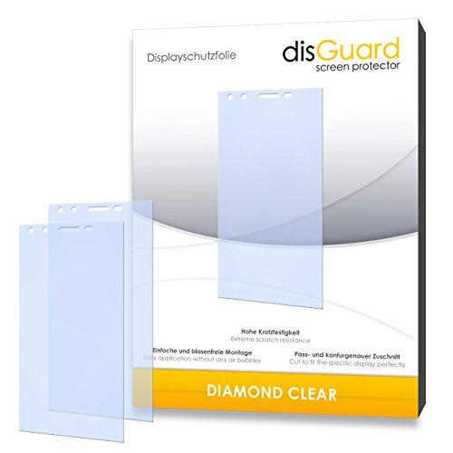 3 x disGuard® Schutzfolie Phicomm Passion Bildschirmschutz Folie