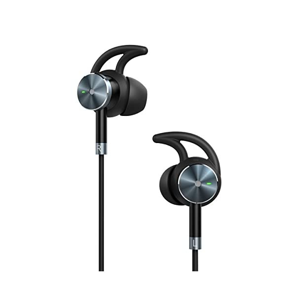 Active Noise Cancelling Headphones, TaoTronics ANC Wired Earphones with 15 Hours Playtime, In Ear Corded Earbuds with Built-in Microphone 41N3hK6J0qL