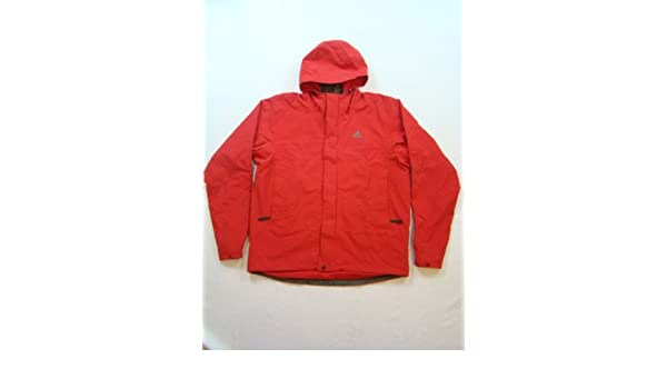 adidas Hiking CPR Giacca Giacca Rossa Rot XL: Amazon.it