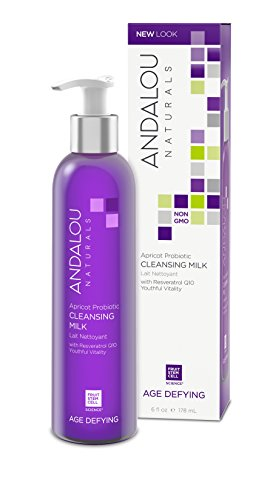 Andalou Naturals Aprikose Probiotische Reinigungsmilch für Trockene Empfindliche Haut 177 ml