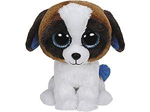Ty Duke Perro de Juguete Negro, Azul, Marrón, Color Blanco - Juguetes de Peluche (Perro de Juguete, Negro, Azul, Marrón, Color Blanco, 152 mm)
