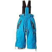 Peak Mountain Edal - Pantalón de esquí para niño, color azul, tamaño 3 años