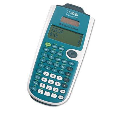 Texas Instruments TI30X SMV Luxembourg LCD Multiview Wissenschaftlicher Taschenrechner - Taschenrechner Wissenschaftlicher Ti30