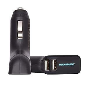 Blaupunkt BI04BGB1 Dual Output USB Car Charger (Black)