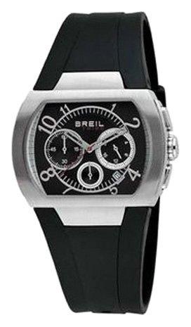 Breil Tribe - TW0481 - Montre Mixte - Quartz - Chronographe - Chronomètre - Bracelet Caoutchouc noir