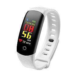 Smart Watch S2 Fitness Tracker, Wasserdicht IP67 Fitness Armband mit Pulsmesser 0,96 Zoll TFT-Bildschirm Smartwatch Aktivitätstracker Pulsuhren Schrittzaehler Uhr Fitness Uhr für Damen Herren