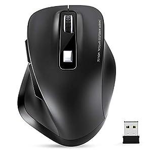Maus Kabellos, TedGem Funkmaus, 2.4G Kabellose Maus, Tragbar Wireless Maus, Laptop Maus mit USB Nano Empfänger, 6 Tasten…