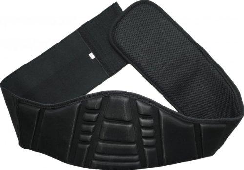 Aprovechar riñón motocicleta motocicleta seguridad riñonera protector de espalda (2XL)