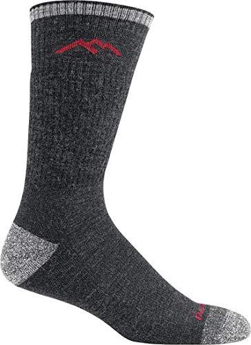 Darn Tough Vermont Herren Stiefel Merino Wolle Kissen Wandern Socken, Herren, schwarz (Vermont Socken Aus)