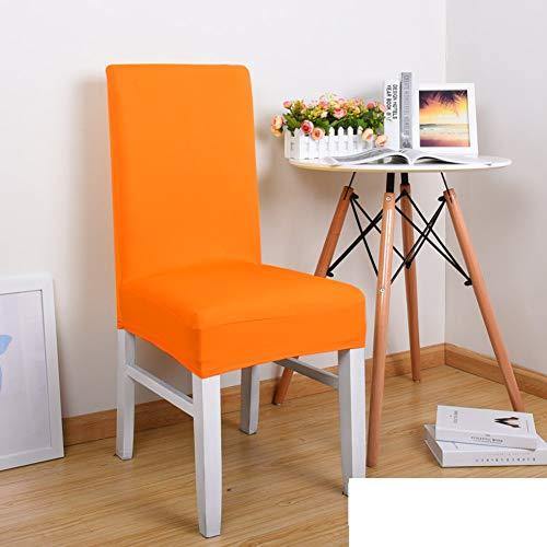 Sishe Stuhl Silpcover Elastischer Stuhlbezug für Haushalt Hoteltisch Stuhlüberzug Stoffbezug Sitzhocker-G by (Farbe : J)