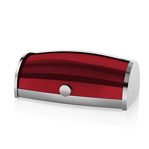 swan-brand-townhouse-bread-bin-stainless-steel-red
