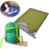 WANZIJING Saco de Dormir Ligero cómodo Sobre Bolsa de Dormir 75 * 190cm Acampar al Aire