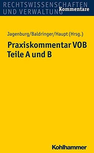 e-Books Best Sellers: Praxiskommentar Vob – Teile a Und B PDF