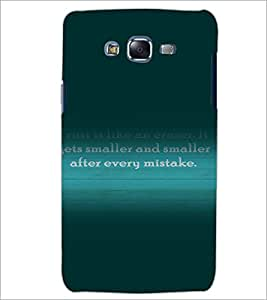 PrintDhaba Quote D-3282 Back Case Cover for SAMSUNG GALAXY ON 5 (Multi-Coloured)