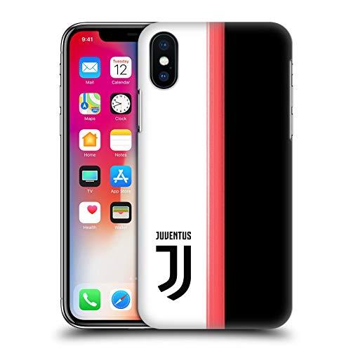 Head Case Designs Offizielle Juventus Football Club Home 2019/20 Race Kit Harte Rueckseiten Huelle kompatibel mit iPhone X/iPhone XS