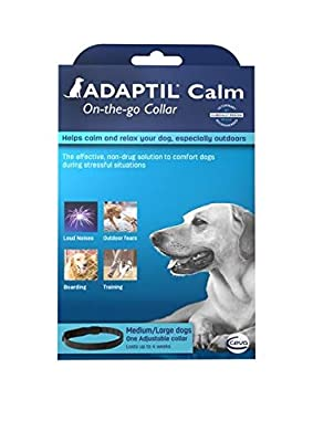 DAP ADAPTIL Collar - Dog Appeasing Pheromone Small and Medium Dogs by CEVA