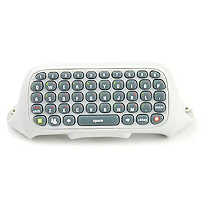 Generic Keyboard Keypad For Xbox 360 Wireless Wired Controller White by fosler company