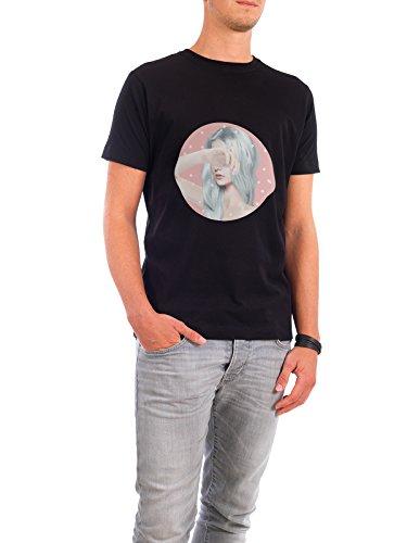 """Design T-Shirt Männer Continental Cotton """"Let go"""" - stylisches Shirt Motiv von Nettsch Schwarz"""