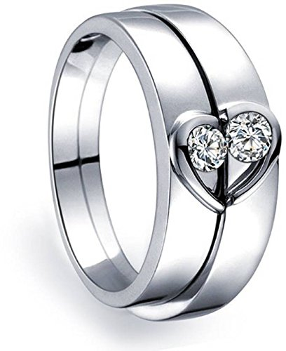 39 Off On Anvi Jewellers Splendiferous Special Couple Love Ring