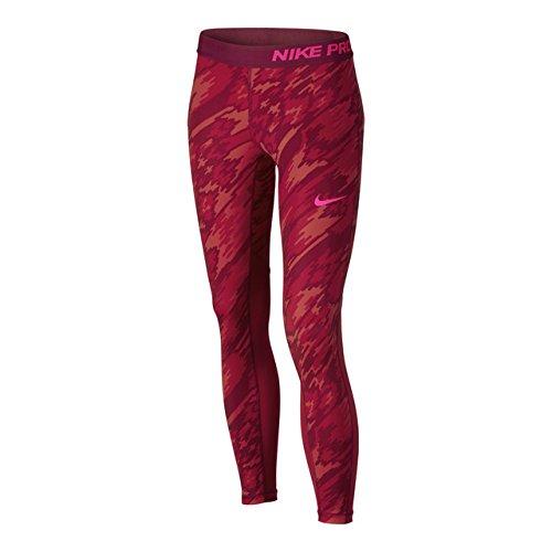 Nike G NP CL TGHT AOP3 - Leggins Rot - XL - Mädchen