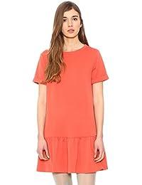 Pepaloves Dress Benjamina Coral - vestido Mujer
