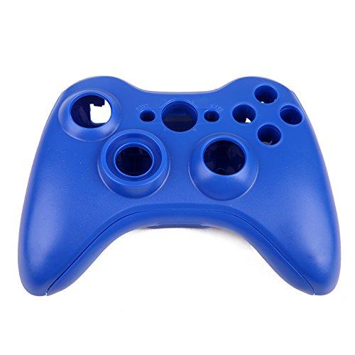 HDE Controller Shell Schutzhülle Ersatz-Kit für Xbox 360W/BUTTON SET, Torx-Schraubendreher, &-Schraubendreher Kreuzschlitz blau (Controller Mod 360 Xbox Blau)