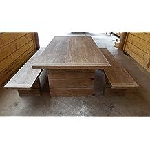 Amazones mesas rusticas de madera