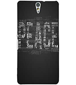 SONY XPERIA C5 PEACE Back Cover by PRINTSWAG