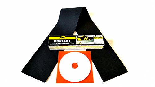 Dr. Cabrio Kit de réparation pour capote de cabriolet Opel Kit complet avec rustine, colle et CD d'instructions (français non garanti)