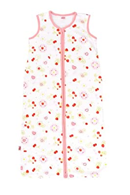 Jollein-Saco de dormir para bebé (0,6TOG 6-18meses, multicolor)