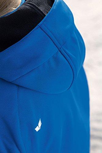 erima Damen Jacke Softshell Function, New Royal/Weiß, 36 - 2