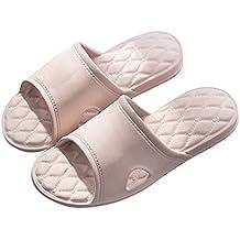 1f0fa93ef5a Pantoufle Homme Femme Été Sandales Piscine Chaussure Plage Chaussons de  Natation Sandales de Douche Chaussons Antidérapant