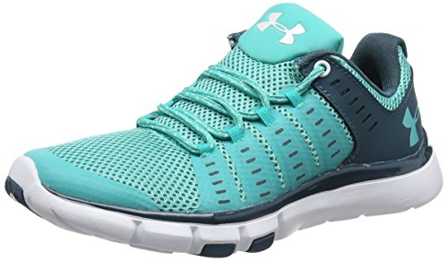 Under Armour Ua W Micro G Limitless Tr 2, Scarpe Sportive Indoor Donna Verde (Neptune 369)