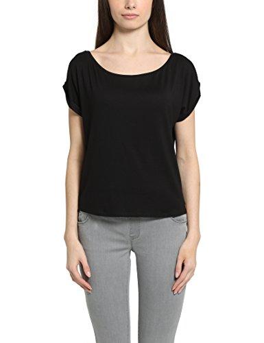 Berydale T-Shirt con Taglio High-Low Nero (Schwarz)
