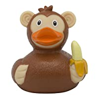 Lilalu 2117 Monkey Rubber Duck Bath Toy, Various