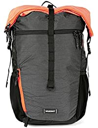 Wildcraft 22 Ltrs Orng_Blk Casual Backpack (11532)