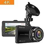 TOGUARD Dash Cam 4K en el automóvil Cámara de auto Ultra HD Cámara de video de manejo Cámara de tablero de pantalla de 3 pulgadas con WDR Grabación en bucle Monitor de estacionamiento con sensor G
