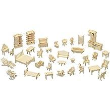 Furniture Set QUAY Woodcraft Construction Kit FSC