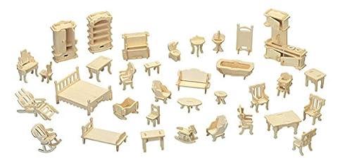 Furniture Set QUAY Woodcraft Construction Kit