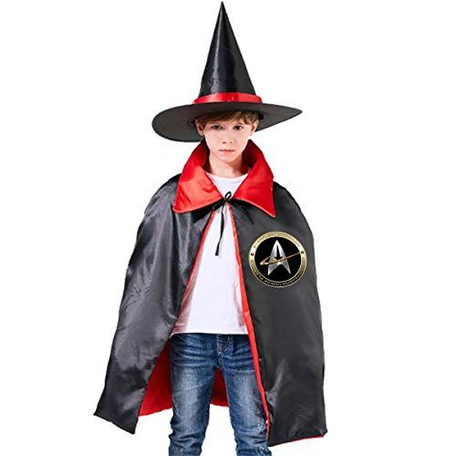 41N3zjnadUL - Walter Margaret Hittings Neva Star Trek Capa con Capucha Unisex para niños, para Halloween, decoración de Fiestas, Disfraces de Cosplay