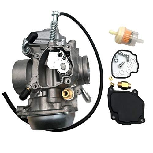 Dpolrs Motor de la Motocicleta Accesorios Carburador Carb Filtro de Combustible de...